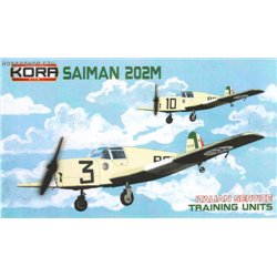 Saiman 202M Italian training units - 1/72 kit