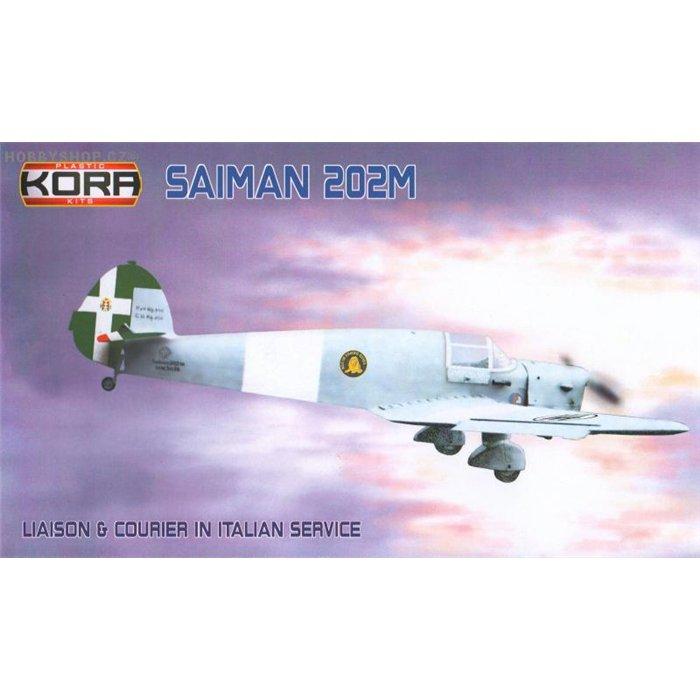 Saiman 202M Italian Liason & Courier - 1/72 kit