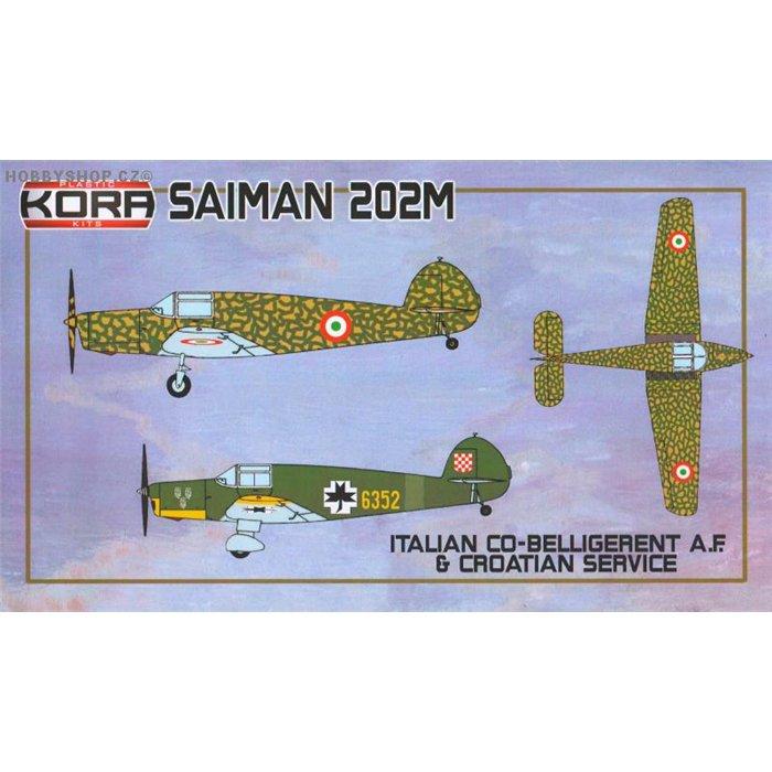 Saiman 202M Italian & Croatian Service - 1/72 kit
