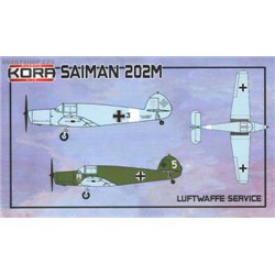 Saiman 202M Luftwaffe Service - 1/72 kit