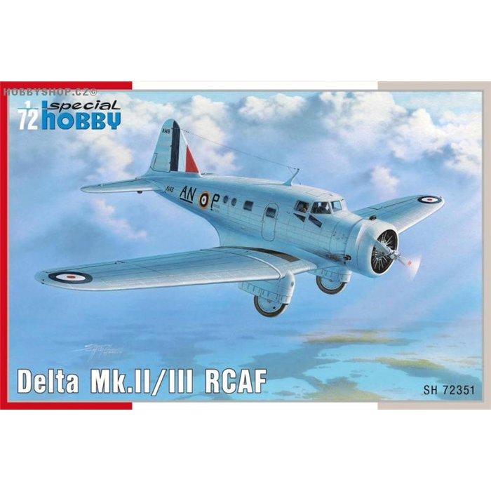 Delta Mk.II/III RCAF - 1/72 kit