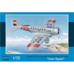 Delta US Passenger & Transport Plane Over Spain - 1/72 kit