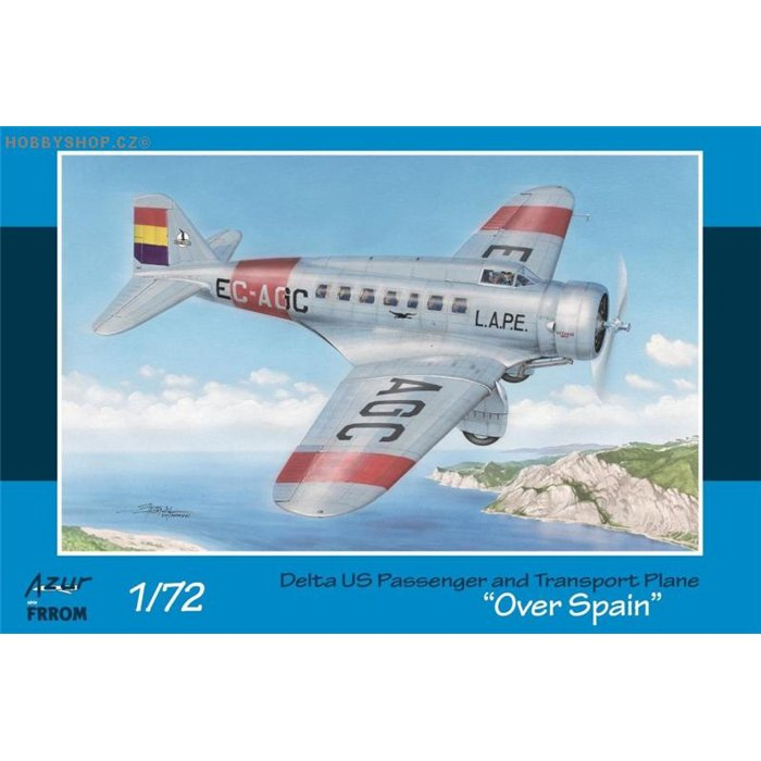 Delta US Passenger & Transport Plane Over Spain - 1/72 kit