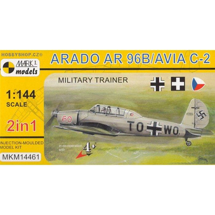 Arado Ar 96b / Avia C-2 2 in 1- 1/144 kit