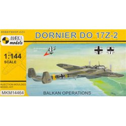 Dornier Do 17Z-2 Balkan - 1/144 kit