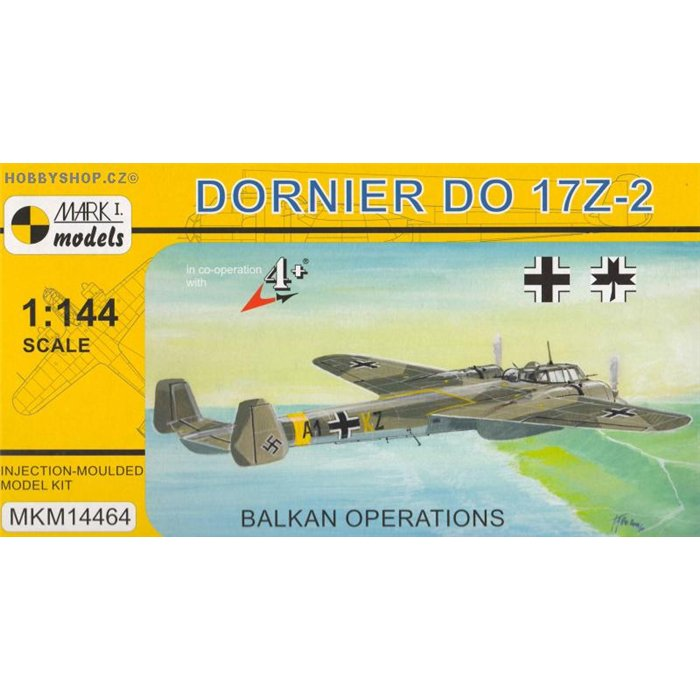 Dornier Do 17Z-2 Balkan - 1/144 kit