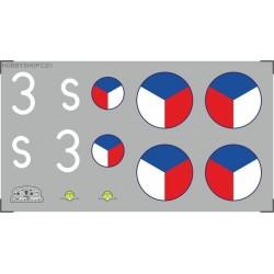Avia B-35 - 1/72 obtisk