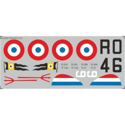 Dewoitine D.500 / D.501 - 1/72 decal