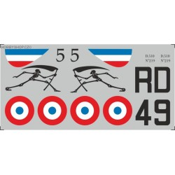 Dewoitine D.510 - 1/72 decal
