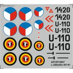 L-29 Delfin - 1/72 decal