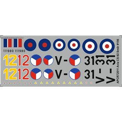 Avia CS-92 / Me 262b  - 1/72 decal