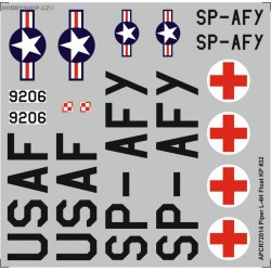 Piper L-4H Floatplane - 1/72 decal