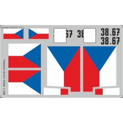 Fokker D.VII MÁG flags - 1/48 decal