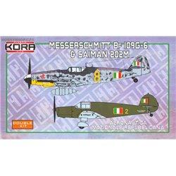 Me Bf 109G-6 & Saiman 202M ANR Service - 1/72 kit