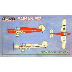 Saiman 202 Italian Service - 1/72 kit