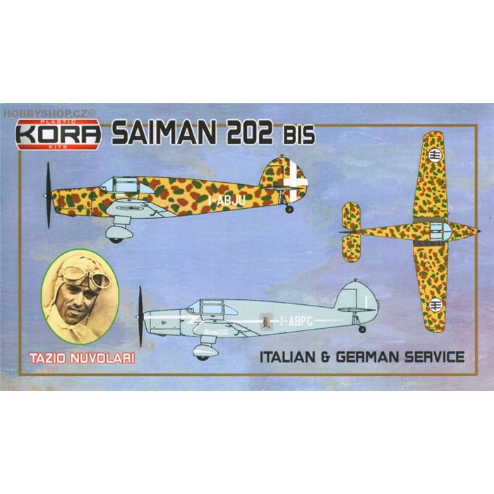Saiman 202bis Italian & German Service - 1/72 kit