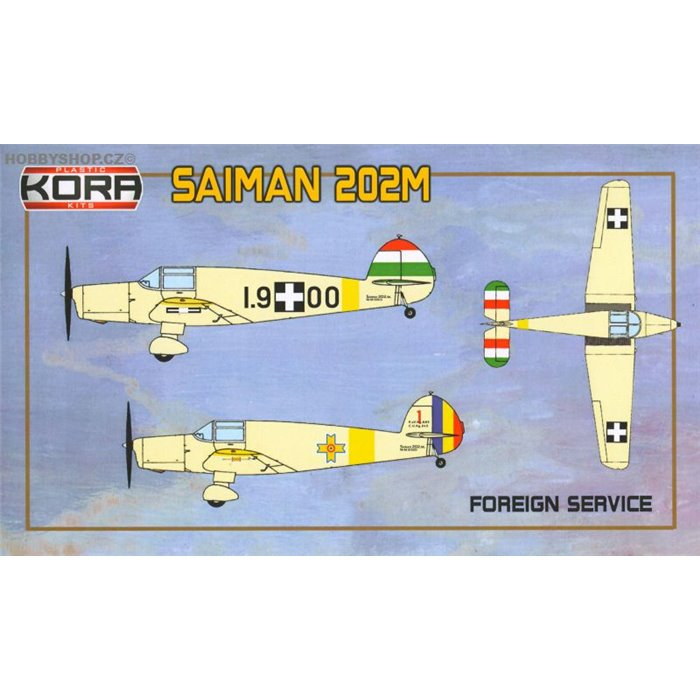Saiman 202M Foreign Service - 1/72 kit