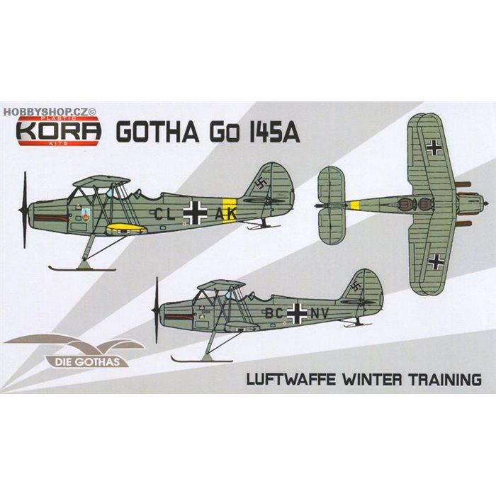Gotha Go 145A Luftwaffe Ski service - 1/72 kit
