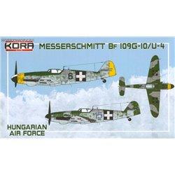 Me Bf 109G-10/U-4 Hungarian A.F. - 1/72 kit