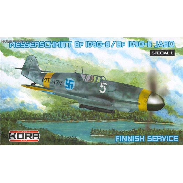 Me Bf 109G-8/G-6 JABO Finnish service - 1/72 kit