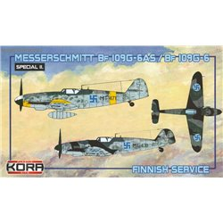 Me Bf 109G-6AS/G-6 Finnish service - 1/72 kit