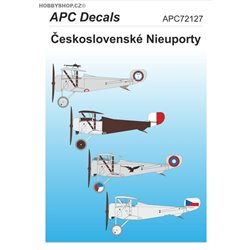 Czechoslovak Nieuports - 1/72 decal