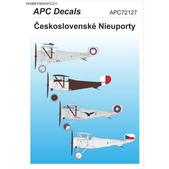 Czechoslovak Nieuports - 1/72 decal