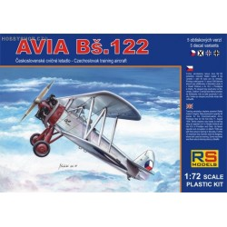 Avia Bs.122 - 1/72 kit