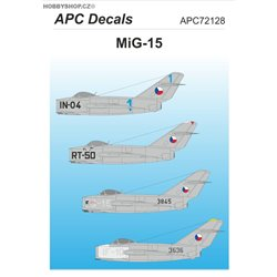 MiG-15 - 1/72 decal