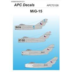 MiG-15 - 1/72 obtisk