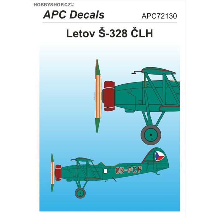 Letov Š-328 ČLH - 1/72 decal