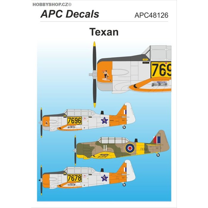 Texan - 1/48 decal