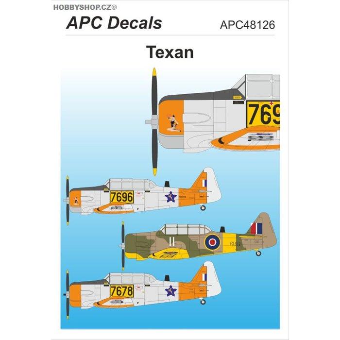 Texan - 1/48 obtisk