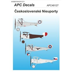Czechoslovak Nieuports - 1/ decal
