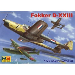 Fokker D-XXIII East India - 1/72 kit