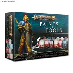 Age of Sigmar + paints + tools