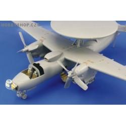 E-2C exterior - 1/48 PE set