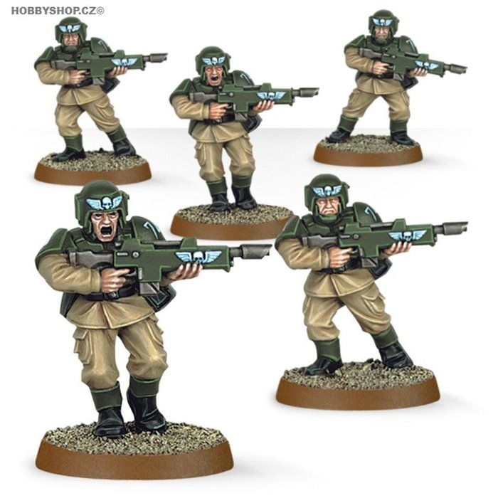 Easy to build  Astra Militarum Cadians