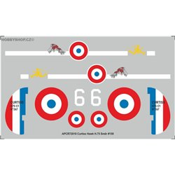 Curtiss Hawk H.75 - 1/72 decal