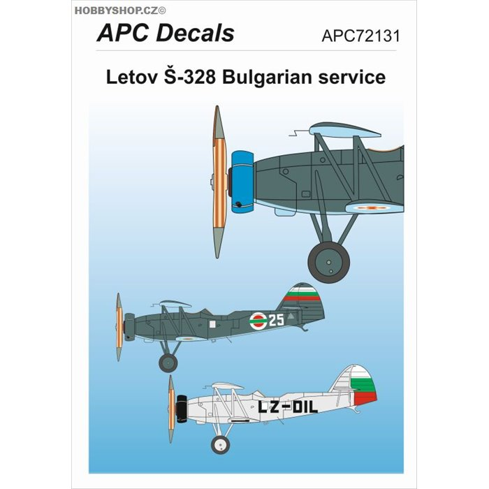 Letov Š-328 Bulgaria - 1/72 decal