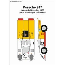 Porsche 917 č.8 Norisring - obtisky