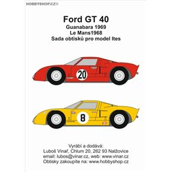 Ford GT40 part II. - decals