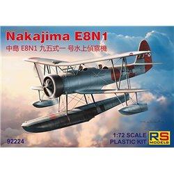 Nakajima E8N1 - 1/72 kit