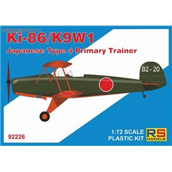 Ki-86 Cypress / Wanatabe K9W1 - 1/72 kit