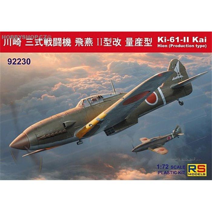 Ki-61 II Kai with bubble canopy - 1/72 kit