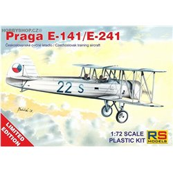 Praga E-141 Diesel Limited - 1/72 kit