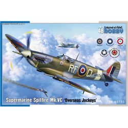Supermarine Spitfire Mk.VC Overseas Jockeys - 1/48 kit