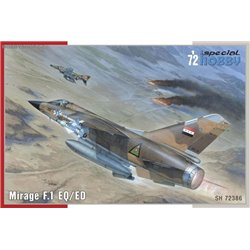 Mirage F.1 EQ/ED - 1/72 kit