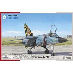 Mirage F.1C/C-200 Armée de l'Air - 1/72 kit