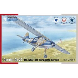 Dornier Do 27 IDF, SAAF and Portuguese Service - 1/72 kit